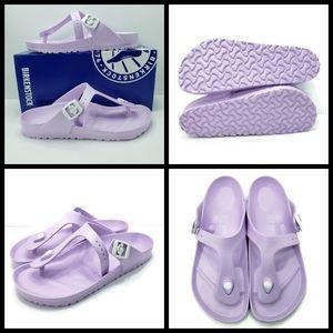 New, Purple Birkenstock Gizeh